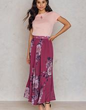 NA-KD Boho Chiffon Ankle Skirt