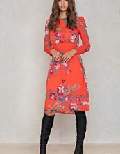 Trendyol Floral Smock Dress orange