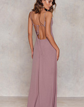Glamorous Crossback Pleated Dress