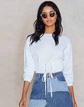 Rut&Circle Lace Front Sweater