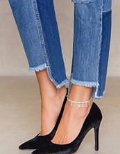 NA-KD Accessories Rhinestone Female Anklet