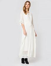 Twinset Abito Madreperla Lungo Maxi Dress