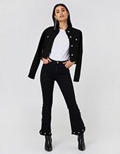 Trendyol Crop Flared Jeans