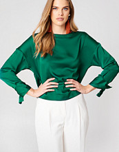 Mango Bow Sleeve Blouse
