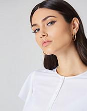 NA-KD Accessories Chunky Hoop Earrings guld