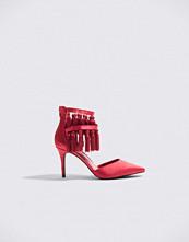 NA-KD Shoes Tassle High Heels