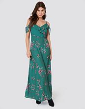 Rut&Circle Mika Long Dress grön
