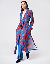 NA-KD Shiny Fluid Trenchcoat multicolor