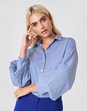 Trendyol Striped Balloon Sleeve Shirt