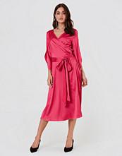 Rut&Circle Fab Wrap Long Dress - Maxiklänningar