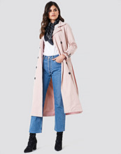Trendyol Buttoned Midi Trench