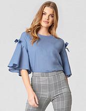 Rut&Circle Isa Knot Shirt blå