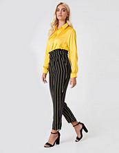Trendyol Multistripe Paperbag Pants