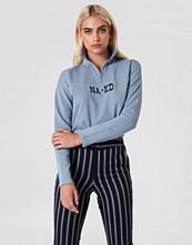 NA-KD Trend Front Zipper Sweatshirt