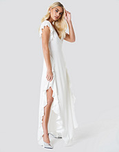 Trendyol Sheer Wrap Maxi Dress