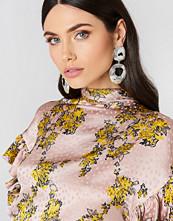 Tranloev Double Round Hanging Earrings