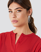 NA-KD Party Top Sparkle Hoop Earring - Smycken