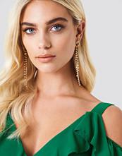 NA-KD Party Rope Globe Long Rhinestone Earrings - Smycken