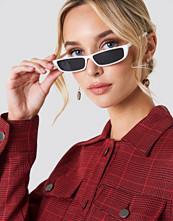 NA-KD Wide Rectangle Sunglasses - Solglasögon
