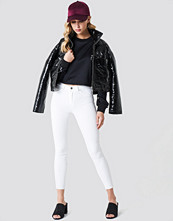 Trendyol Ripped Hem High Waist Skinny Jeans