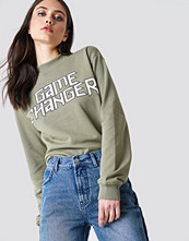 NA-KD Game Changer Sweater grön