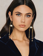 Ettika Gleaming Eye Earrings