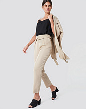 Trendyol Folded Paperwaist Pants - Byxor