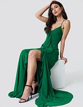 Trendyol Abiye Frill Maxi Dress