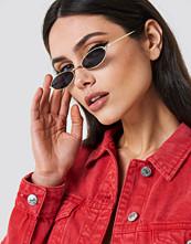 NA-KD Accessories Retro Small Oval Sunglasses