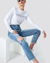 Cheap Monday Donna Pixel Blue Jeans