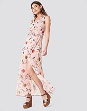 Trendyol Printed Side Slit Dress
