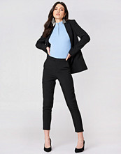 NA-KD Classic Straight Suit Pants - Byxor