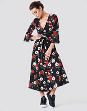 Rut&Circle Jane Flower Dress svart
