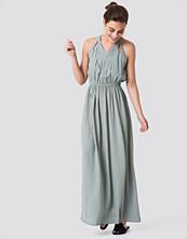 Rut&Circle Hip Long Dress grön