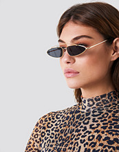NA-KD Pointy Metal Bridge Sunglasses - Solglasögon