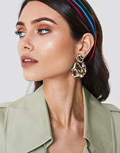 NA-KD Accessories Structured Drop Back Earring