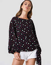 Rut&Circle Dotty Top svart