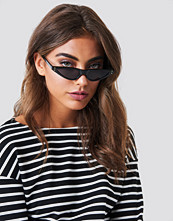 NA-KD Accessories Small Cat Eye Sunglasses svart