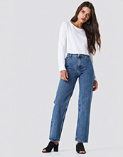 NA-KD Trend Front Pleat Jeans