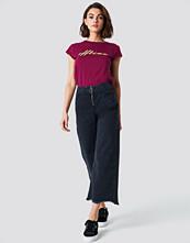Trendyol Front Zip Culotte Jeans