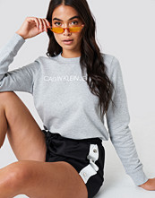 Calvin Klein Institutional Logo Sweatshirt grå