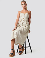 Mango Emilia Dress beige
