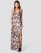 Trendyol Multi Flower Patterned Maxi Dress - Maxiklänningar