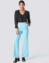 NA-KD Classic Wide Leg Tailored Pants - Kostymbyxor