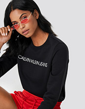 Calvin Klein Institutional Regular Crew Neck svart