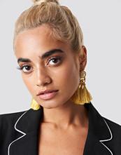 Statement By NA-KD Influencers Hanadi Diab Tassel Earrings - Smycken