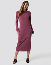 Rut&Circle Polo Midi Dress rosa