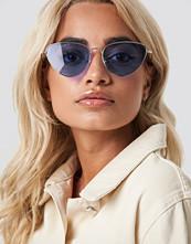 NA-KD Accessories Colored Cateye Sunglasses lila