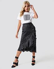 Rut&Circle Dotty Frill Skirt - Midikjolar