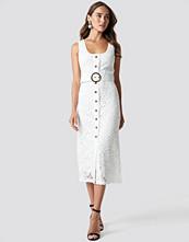 Trendyol Front Button Detailed Midi Dress - Midiklänningar